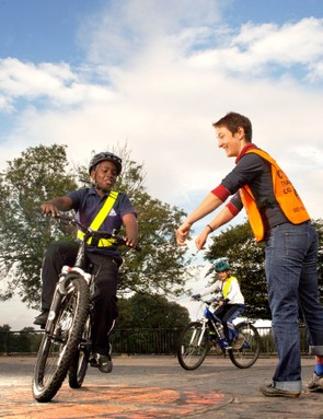 An organized effort can assist riders of all ages.