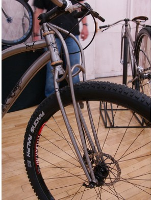 Blakeley's truss-style fork is claimed to be both lighter, stronger and more comfortable than conventional designs