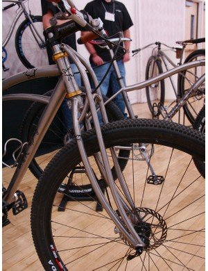 Larger-diameter tubes can also be used depending on desired ride characteristics