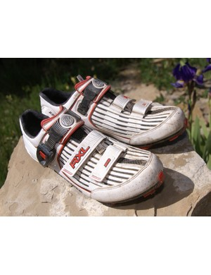Bontrager is set to debut a line of mountain bike shoes , topped by the Race X Lite model.