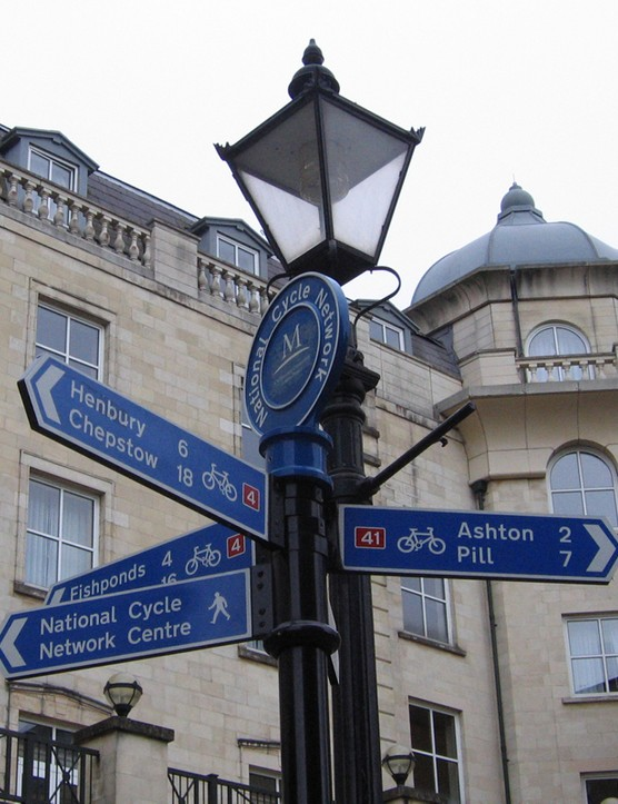 Bristol, home of the national cycling network