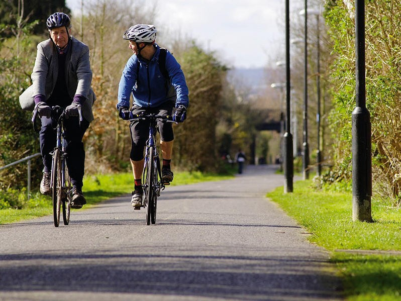 The Bristol to Bath cycle path