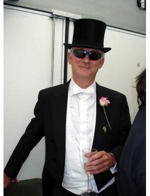 Brompton's best dressed winner Dave Presly