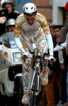 CYCLING : GIRO D'ITALIA 2004CIPOLLINI Mario ( ITA )PROLOOG PROLOGUE TIME TRIAL TIJDRIT CONTRE LA MONTRERONDE ITALIE / TOUR D'ITALIE