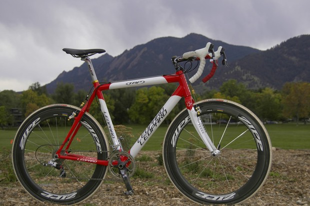 Two-time Danish national Cyclo-cross champion Joachim Parbo's new Leopard Cycles CX1