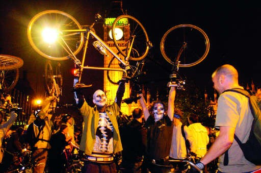 Police have failed in their bid to impose controls on the Critical Mass rides in London