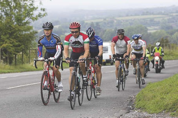 Riders in the 2006 Highclere Sportive