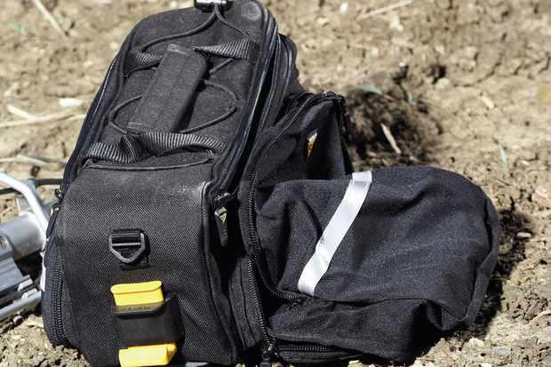 Topeak Trunk Bag RX DXP w/fold down panniers
