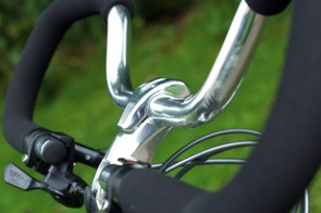The Karakum's Butterfly handlebars have advantages over both flat bars and drops