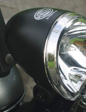 Hella front light could be bigger and brighter