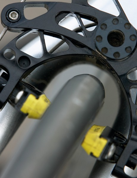 M5 brakes: powerful, but as aero as Campag Record?