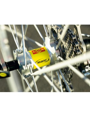 Mavic Ksyrium wheels will be replaced with R-Sys on production models