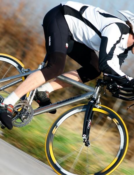 Get down - the Burls Custom TT's micro-style frame encourages a deep tuck