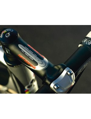 FSA Wing 'bars + stem, note the Colnago 'bar tape