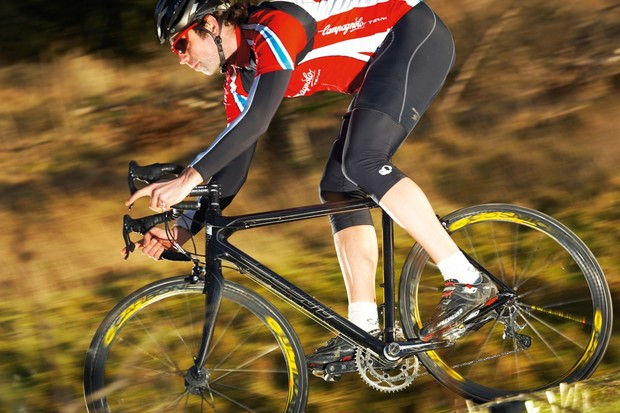 Climbing is its element but the Scott Addict LTD is a sure descender too