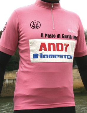 The Andy Hampsten limited edition jersey
