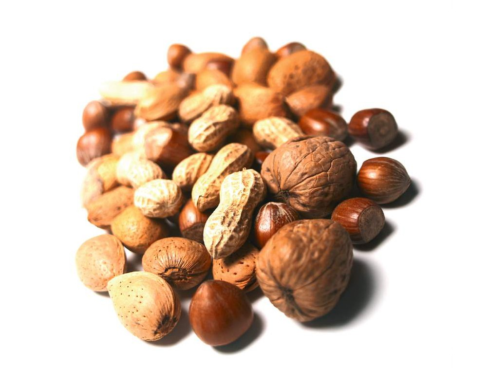 Nuts: they're not just for squirrels