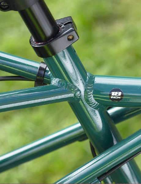 The Ute's Tig-welded double butted aluminium frame is a real eye-catcher