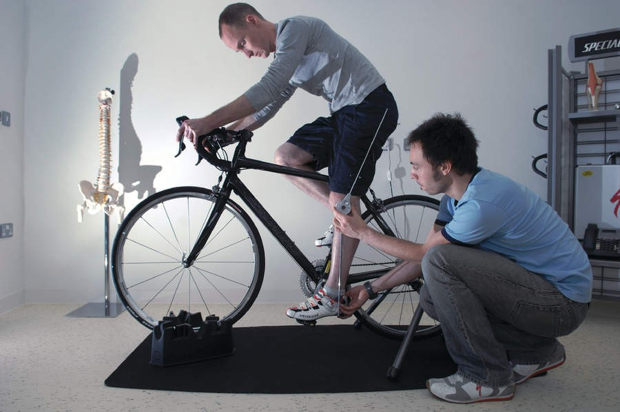 Our rider is measured so that saddle height and stem length can be adjusted to suit