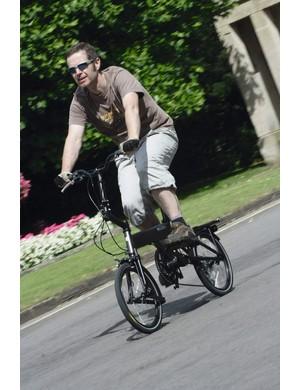 A bike-riding origamist's dream…