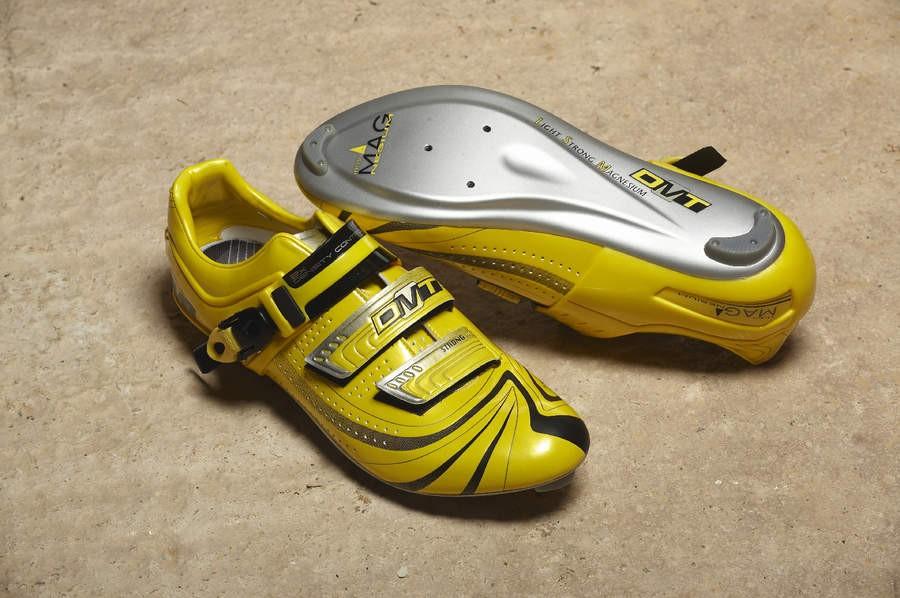 DMT shoes have a great heelfit system