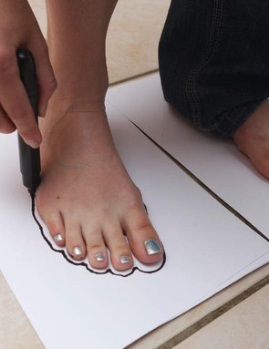 Draw your feet