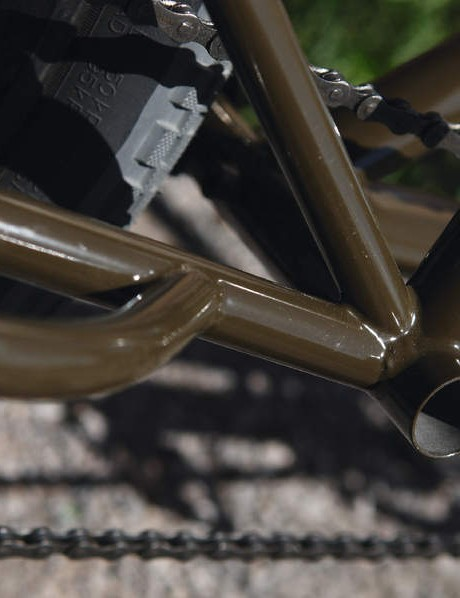 A burly Surly in chromoly steel