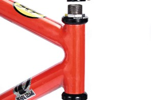 Check the fork will fit in the frame's headtube.