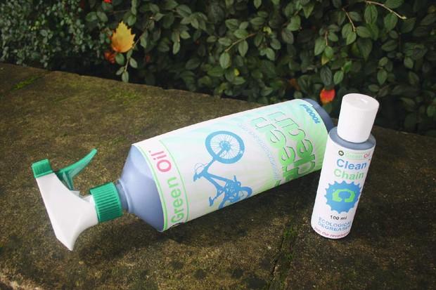 Green Oil Bike wash & Clean Chain