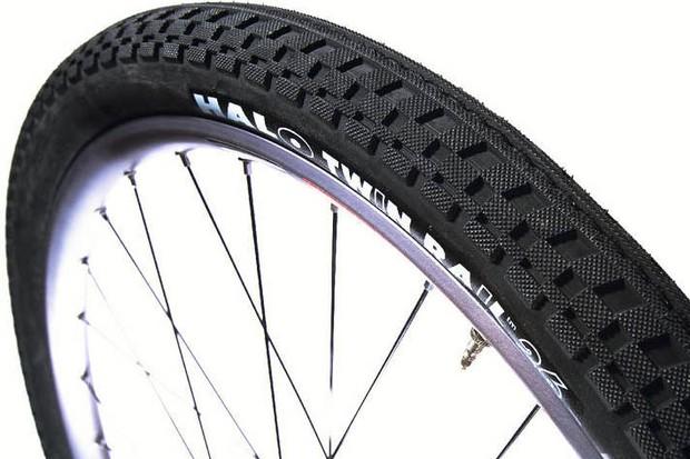 Halo Twin Rail Tyres