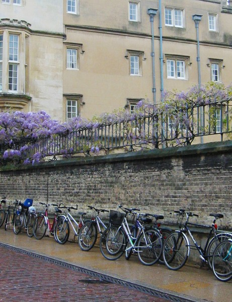 Cycling is the way to get around in Cambridge