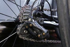The rear derailleur appears mostly unchanged from what we've already seen.