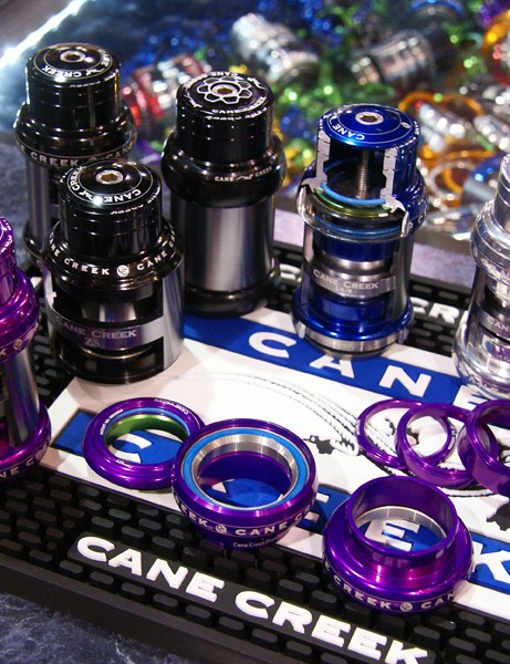 Yes, it really is true.Purple is back and Cane Creek will offer its 110 headset in the garish hue.