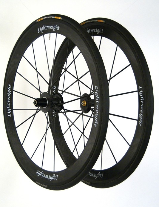 The CarbonSports Lightweight Standard Generation III is one of the few wheelsets pros pay for