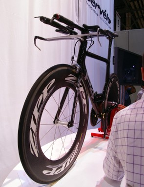 Cervelo says the new P4 is substantially faster than the P3C.