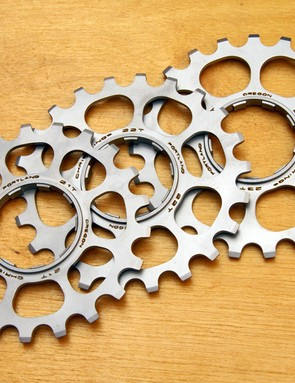 New 21, 22 and 23T stainless steel cogs cater to the 29