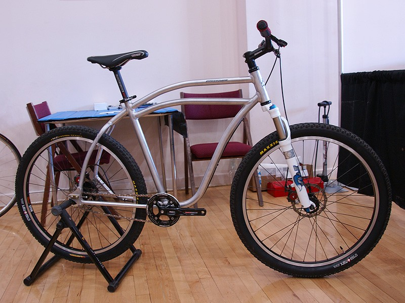 Kopp also does prototype work for other companies and this townie is apparently headed for the production line