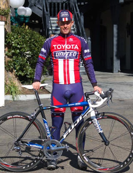 Toyota-United's Hilton Clarke is set to attack the 2008 season with his new Fuji SL1.