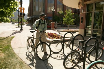 Bike commuting is up in the US thanks to rising gas prices.