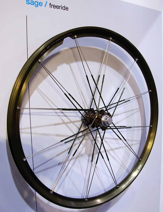 The Sage freeride model is similar to the Opiumbut leaves more of the rim extrusion intact for more strength.