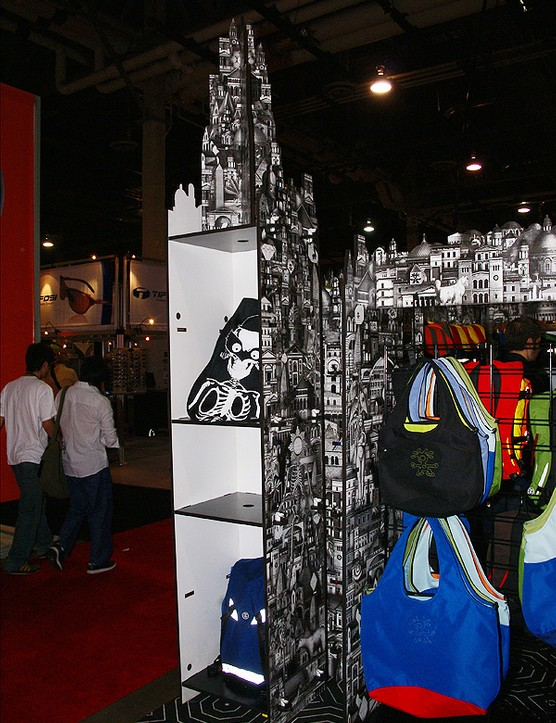 Even the Crumpler booth was rather clever
