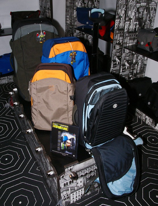 Crumpler fans looking to haul a bit more can now turn to the company's line of rolling luggage