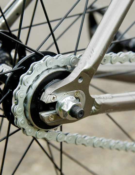 Solid singlespeed transmission allows more bang for your buck