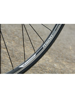 The Alex 500 wheelset proved to be a smooth, reliable budget package