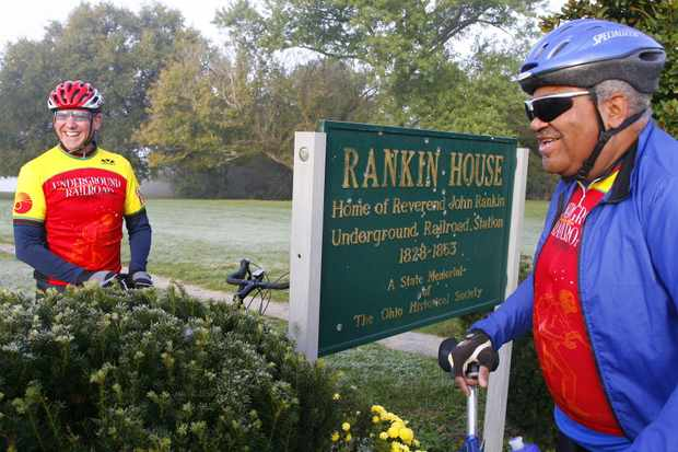 Rankin House in Ripley, Ohio