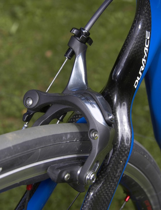 Braking performance on Dura-Ace 7900 is stunning with superb power and modulation matched with outstanding lever feel.