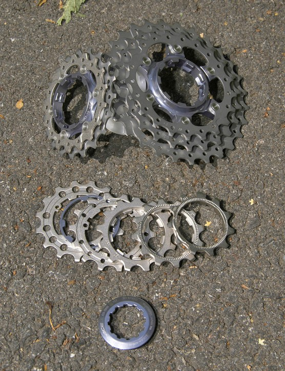 New 7900 cassettes add a fourth titanium cog and there are more ratio options to suit more casual cyclists.