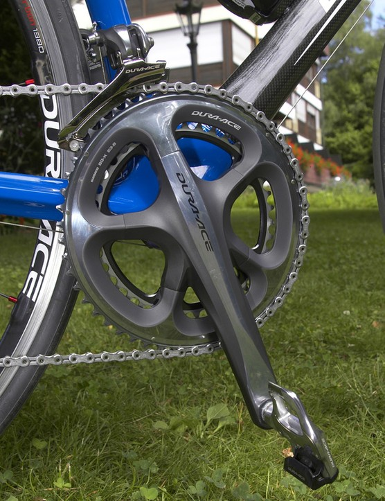One undeniable star of the group is the new crankset.