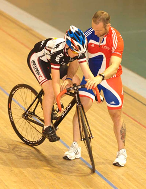 Cyclists learned several different disciplines in Newport.