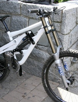 Beneke will ride the Marin Quad Link downhill bike.